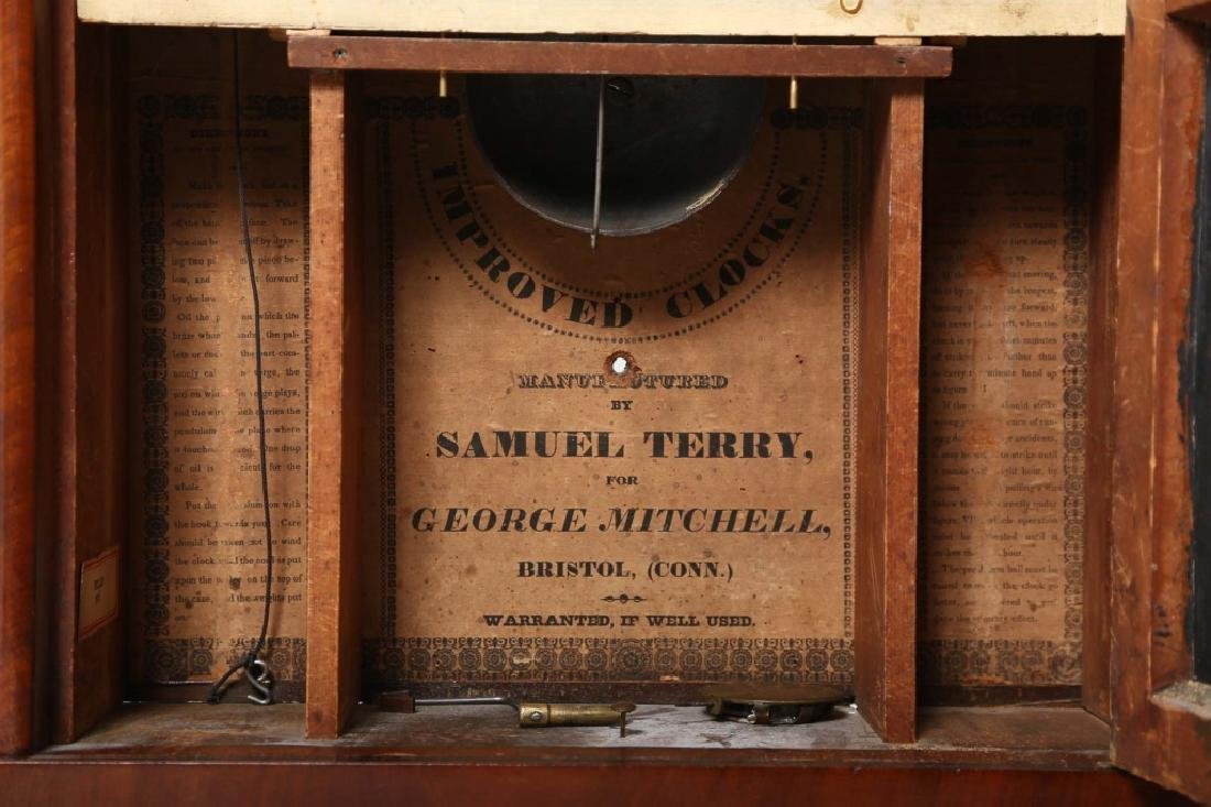 Very Fine Connecticut Federal Mahogany Clock - 5
