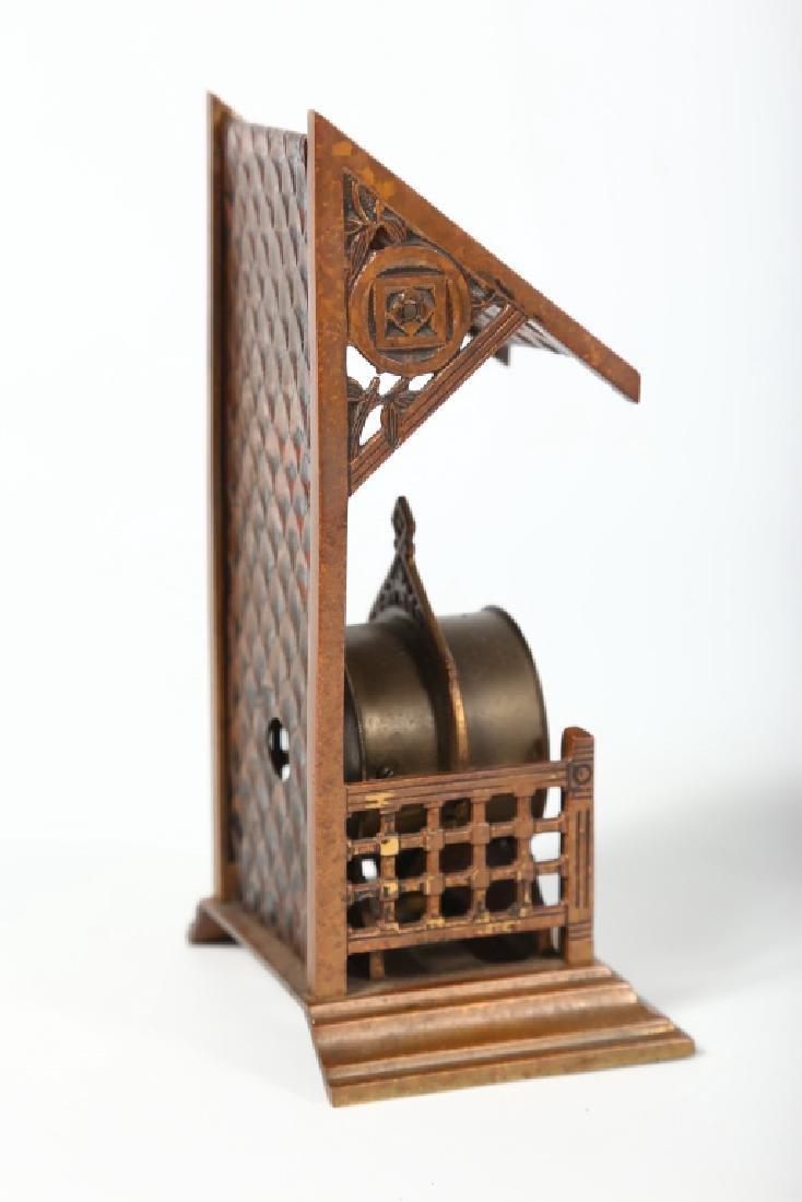 Brass Novelty Calendar Clock - 2