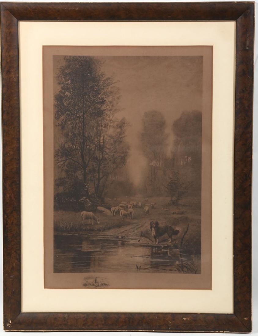Engraving By Charles Walker