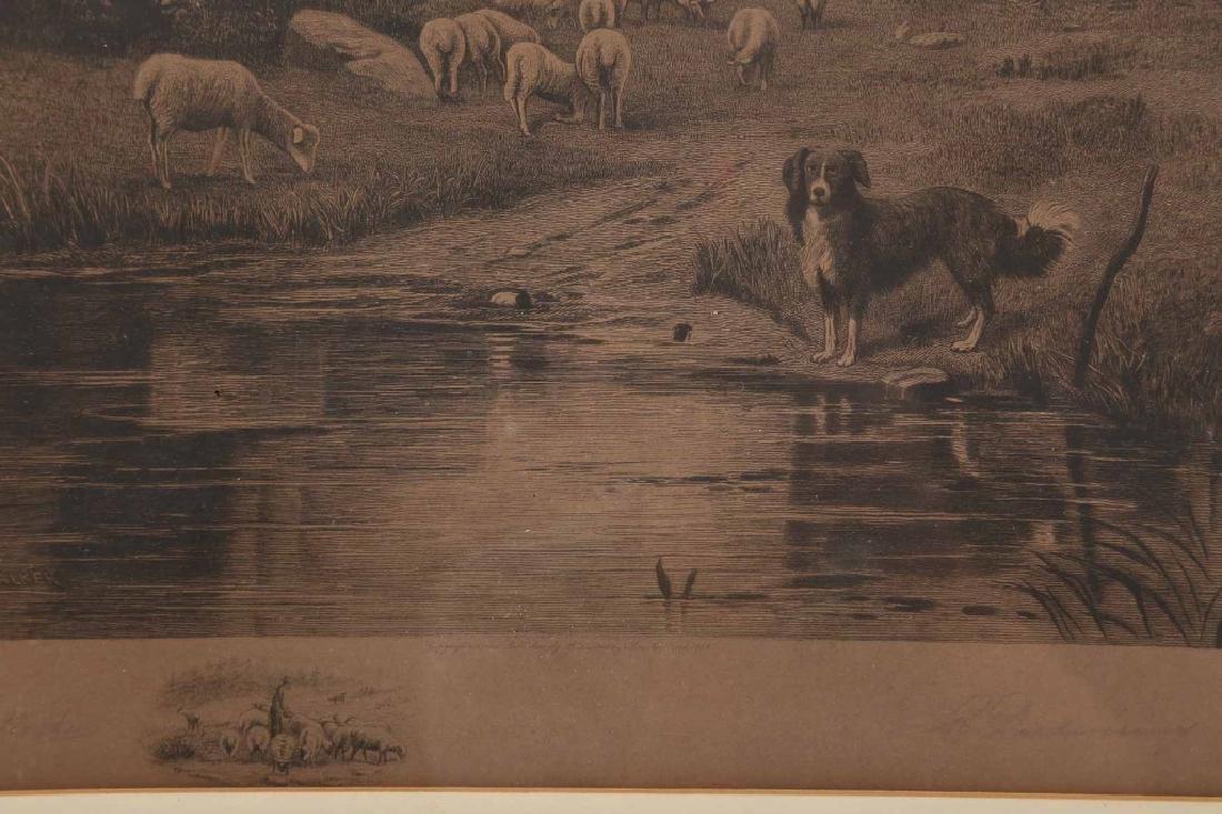 Engraving By Charles Walker - 2