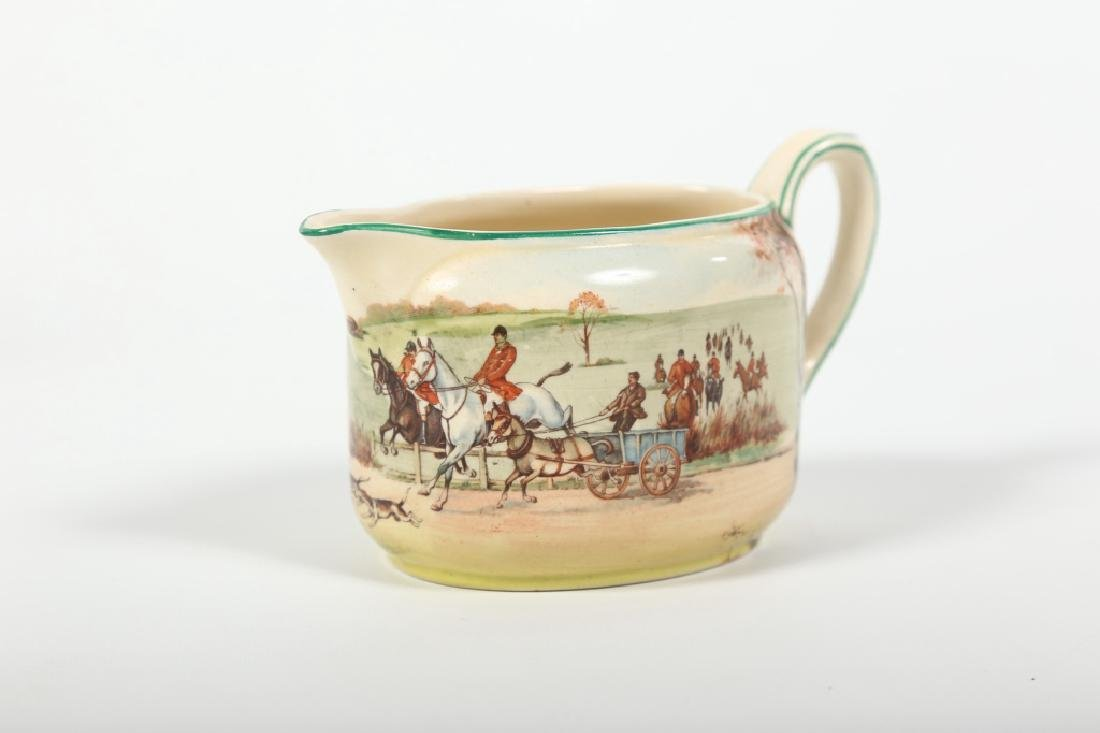 Royal Doulton Porcelain Fox Hunting Tea Set - 3