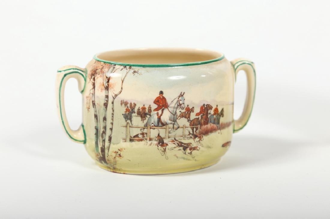 Royal Doulton Porcelain Fox Hunting Tea Set - 4