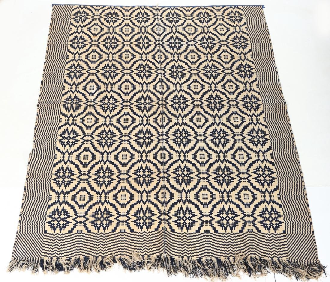 Antique American Coverlet