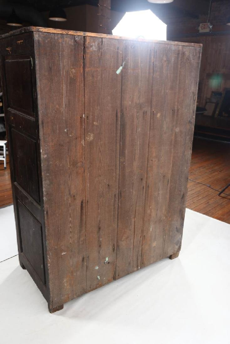 Very Early Southern Yellow Pine Cupboard - 6