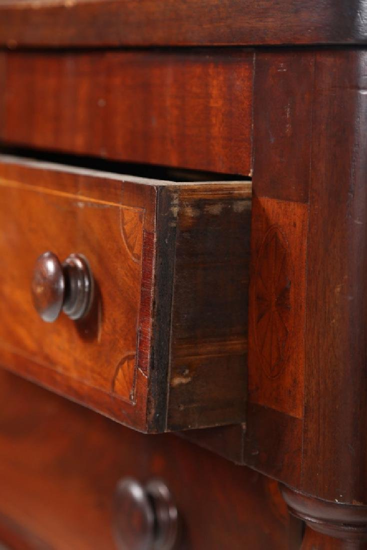 Southern Late Federal Inlaid Walnut Chest - 2