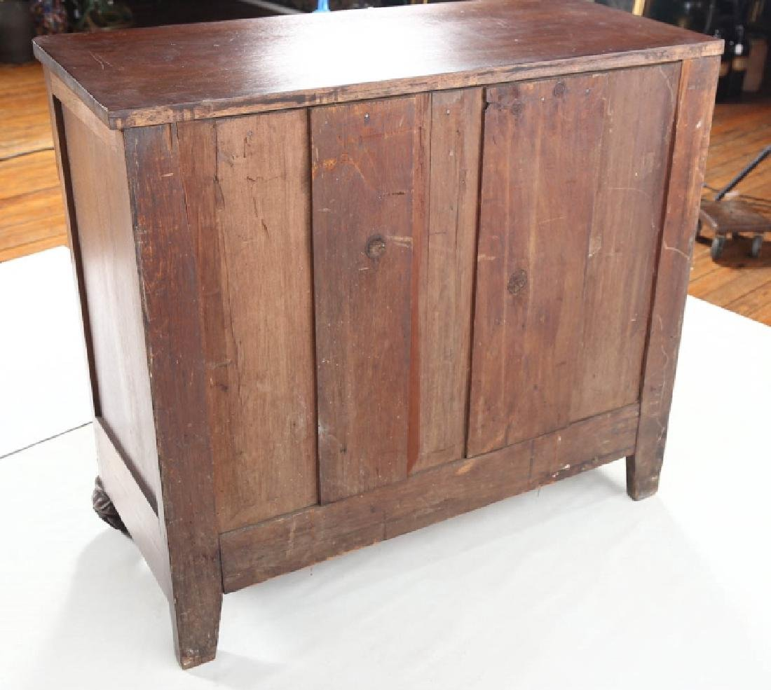 Southern Late Federal Inlaid Walnut Chest - 4