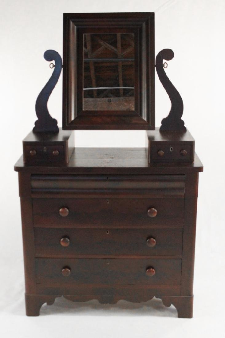 American Empire Mahogany Chest of Drawers