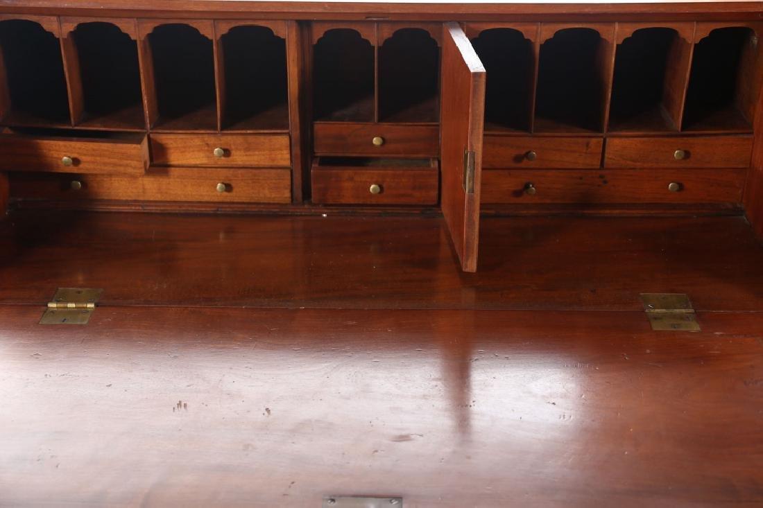 Southern Federal Inlaid Mahogany Desk - 2