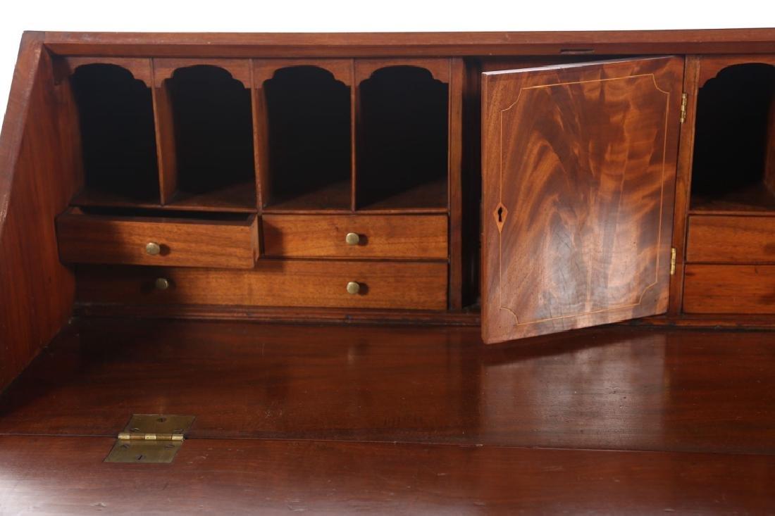 Southern Federal Inlaid Mahogany Desk - 3