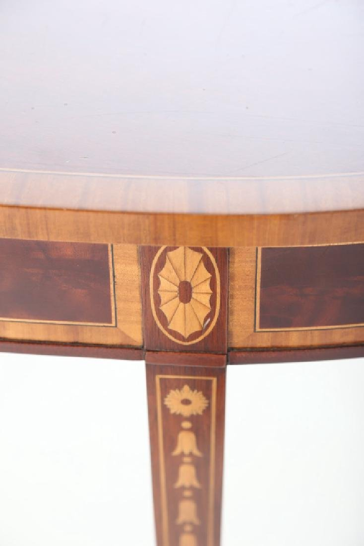 American Federal Style Inlaid Mahogany Console - 4