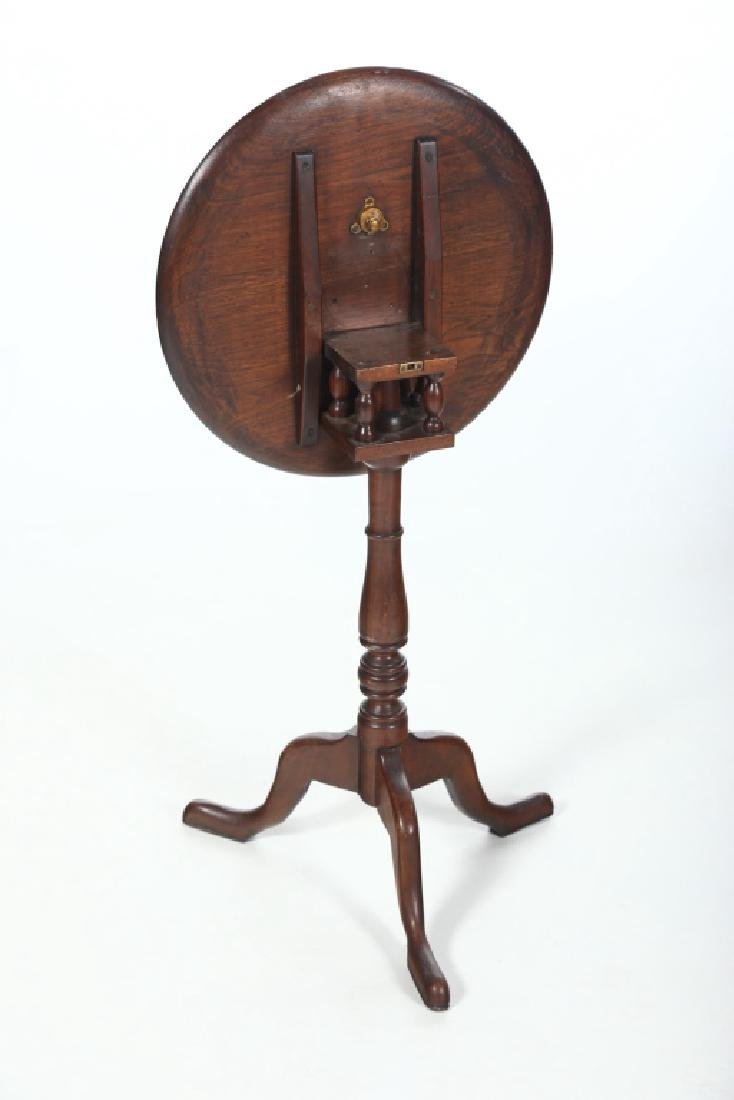 Southern Queen Anne Walnut Candle Stand - 3