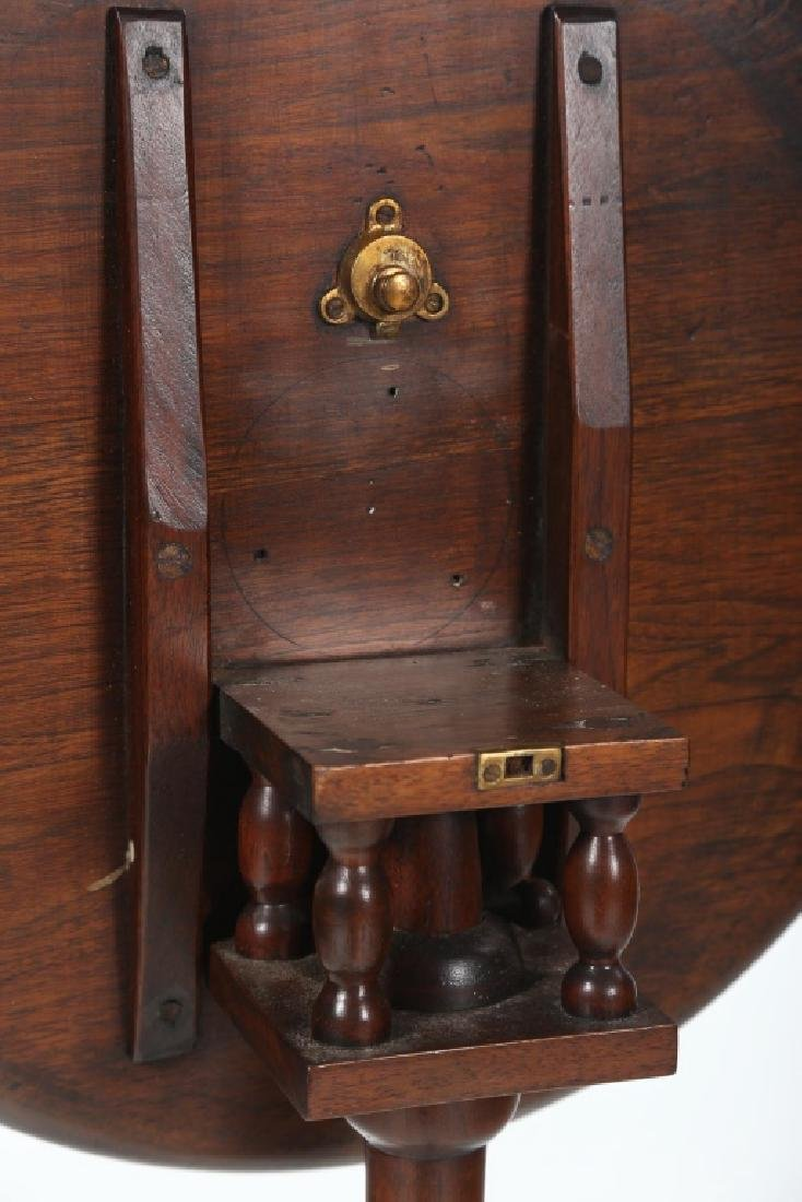 Southern Queen Anne Walnut Candle Stand - 4