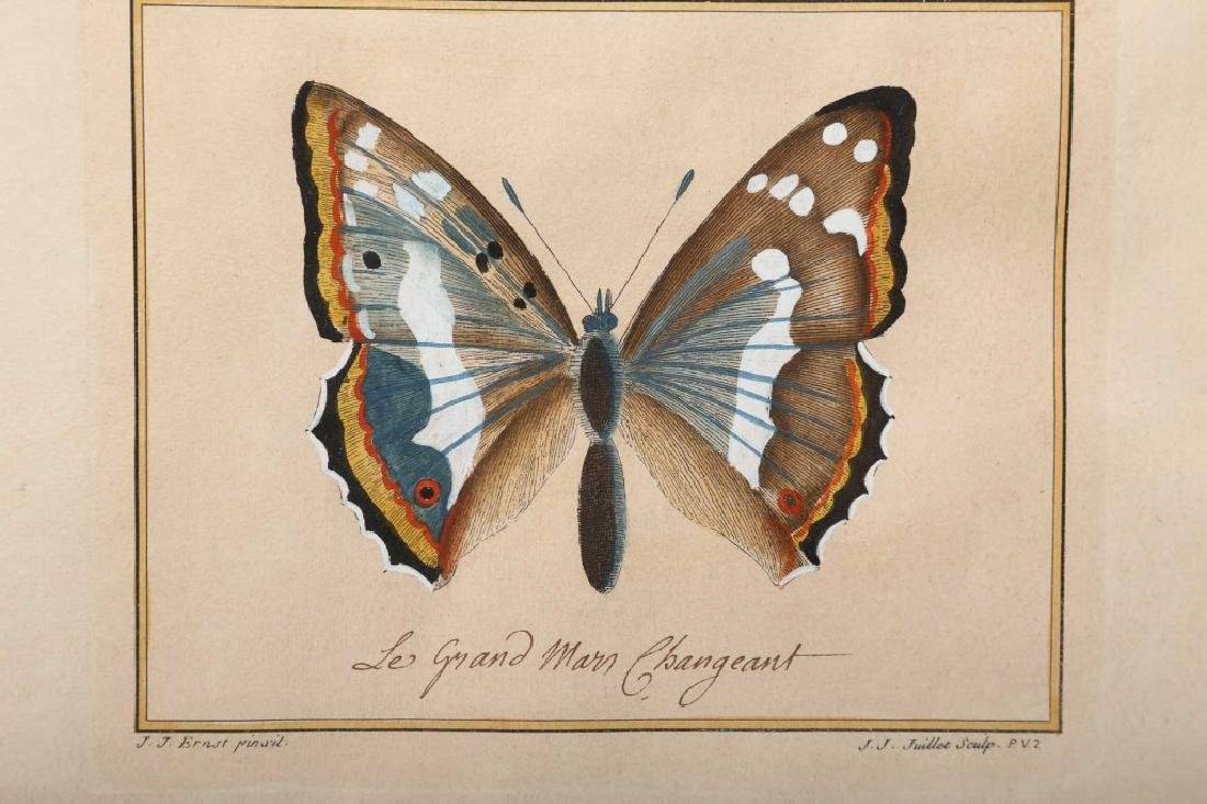 Jacques Juillet Hand Colored Engraving - 2