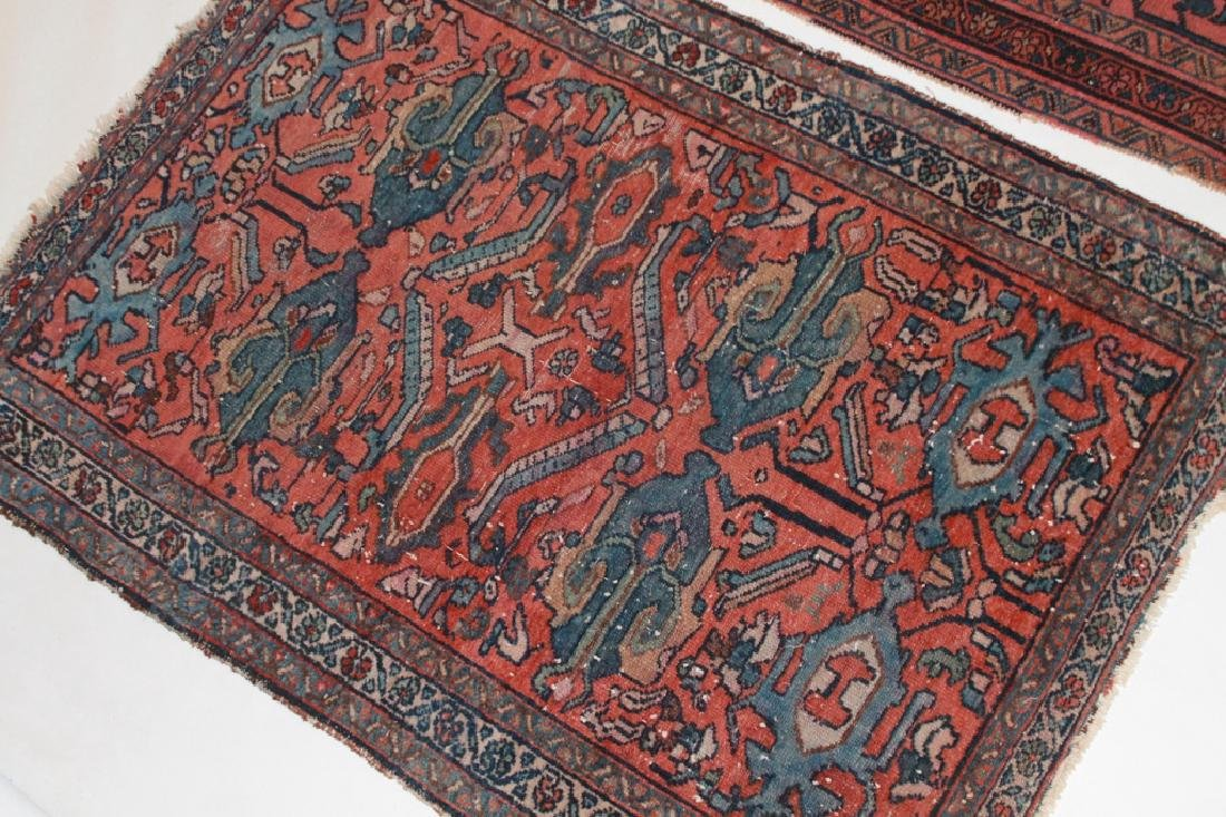 Two Antique Persian Hamadan Carpets - 2