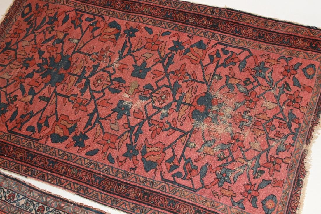 Two Antique Persian Hamadan Carpets - 3