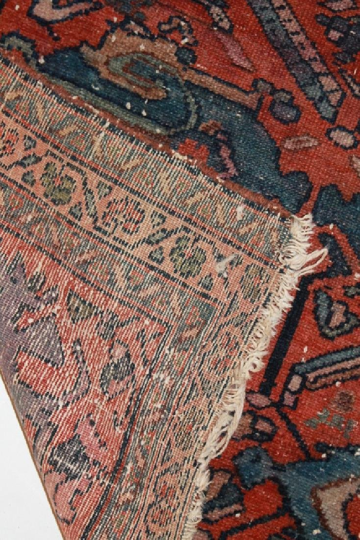 Two Antique Persian Hamadan Carpets - 5