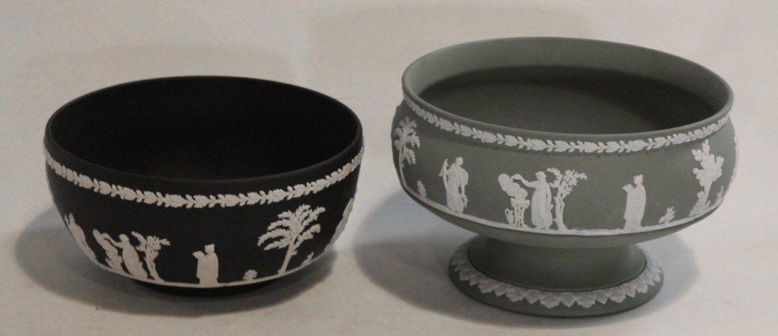 Two Vintage Wedgewood Jasperware Bowls