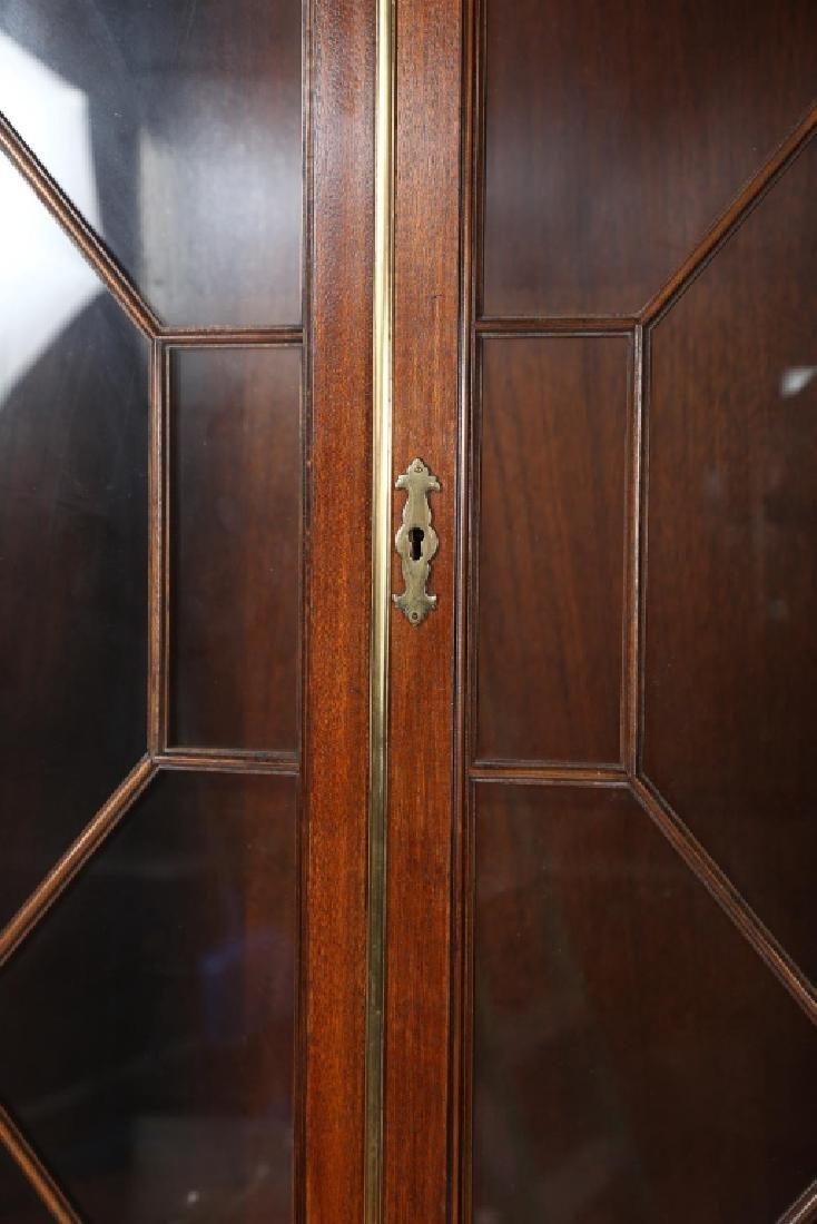 Baker Federal Style Mahogany Secretary Bookcase - 3