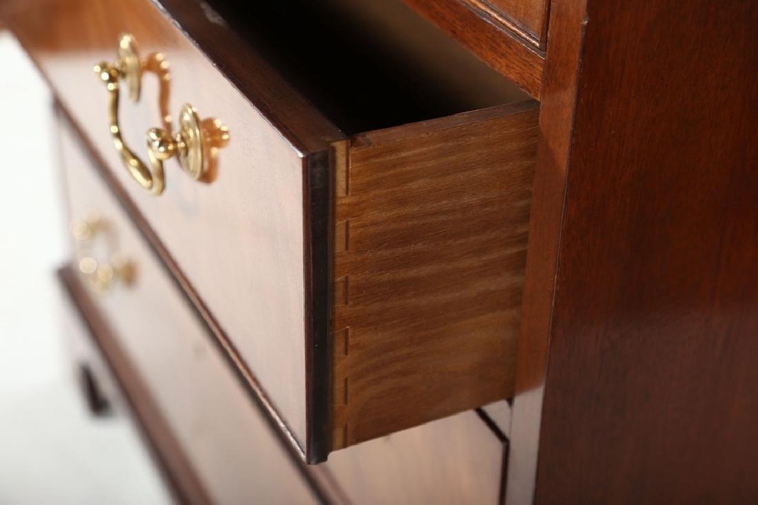 Baker Federal Style Mahogany Secretary Bookcase - 5