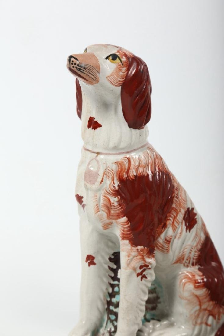 Collection Staffordshire Pottery Figures - 3
