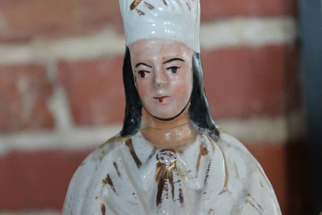 Collection Staffordshire Pottery Figures - 8