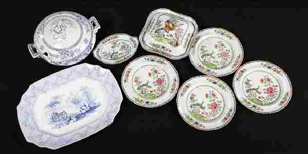 Collection Antique British Transferware Articles