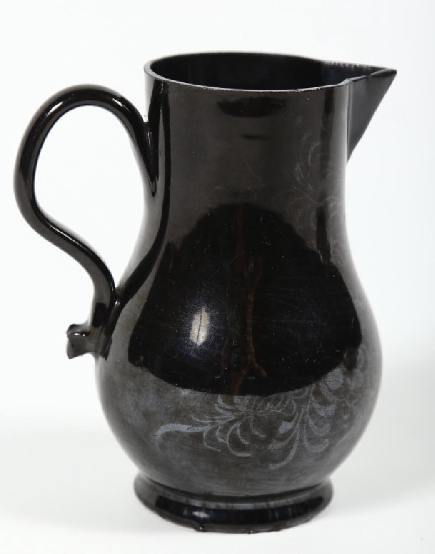 Early British Led Glazed Earthenware Creamer