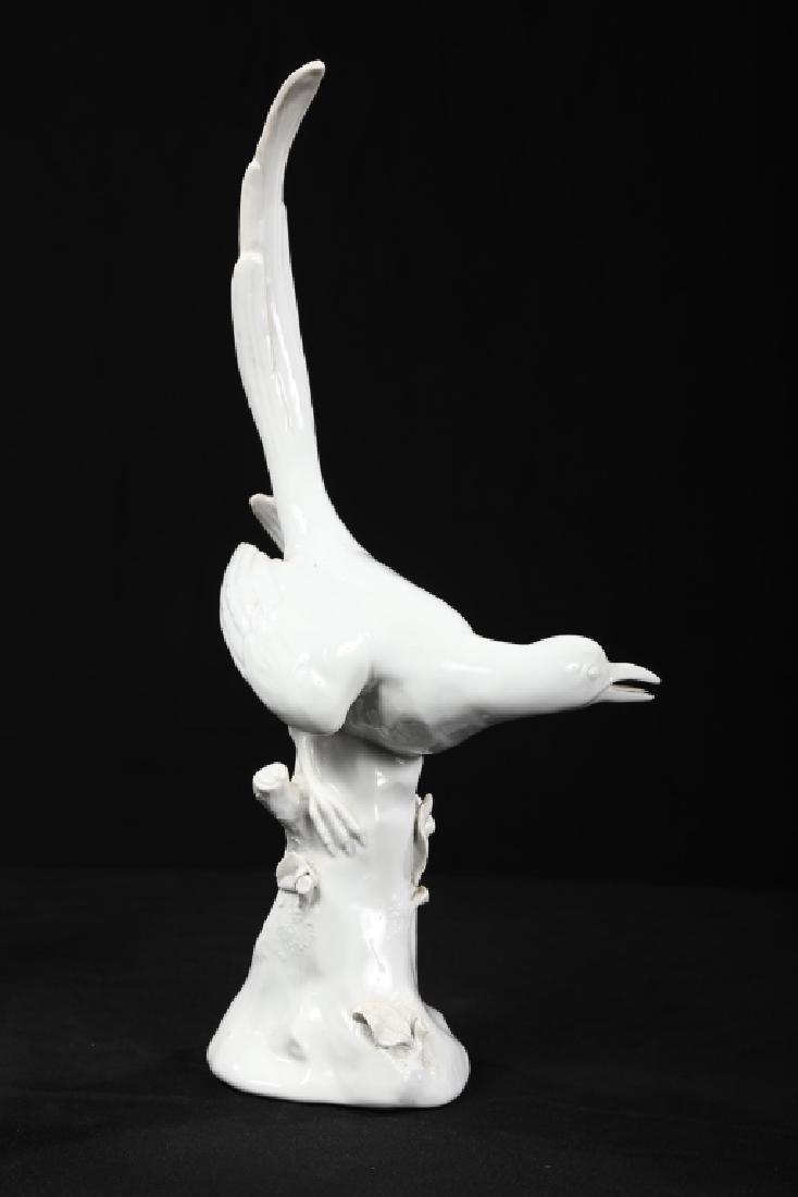 Fine Pair Continental Figural Porcelain Birds - 2