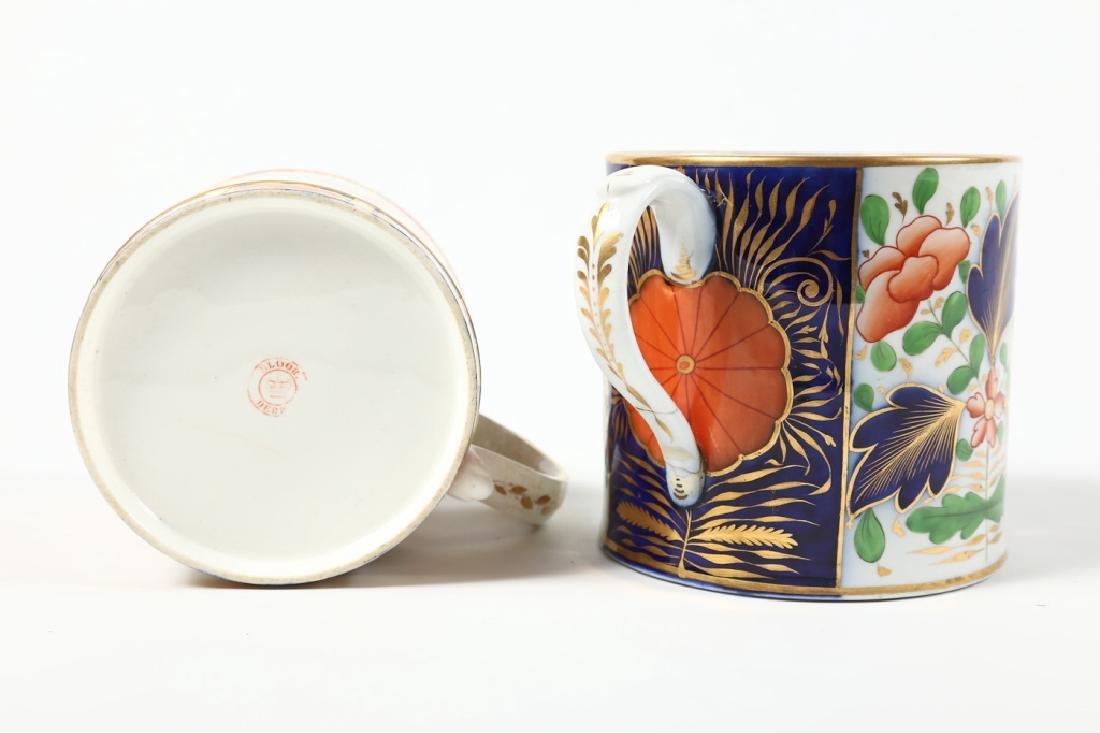 Two Large Antique British Cream Ware Cups - 3