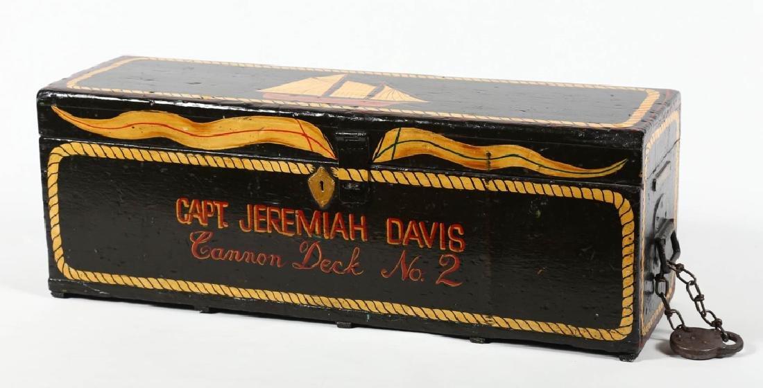 Antique Seaman's Chest