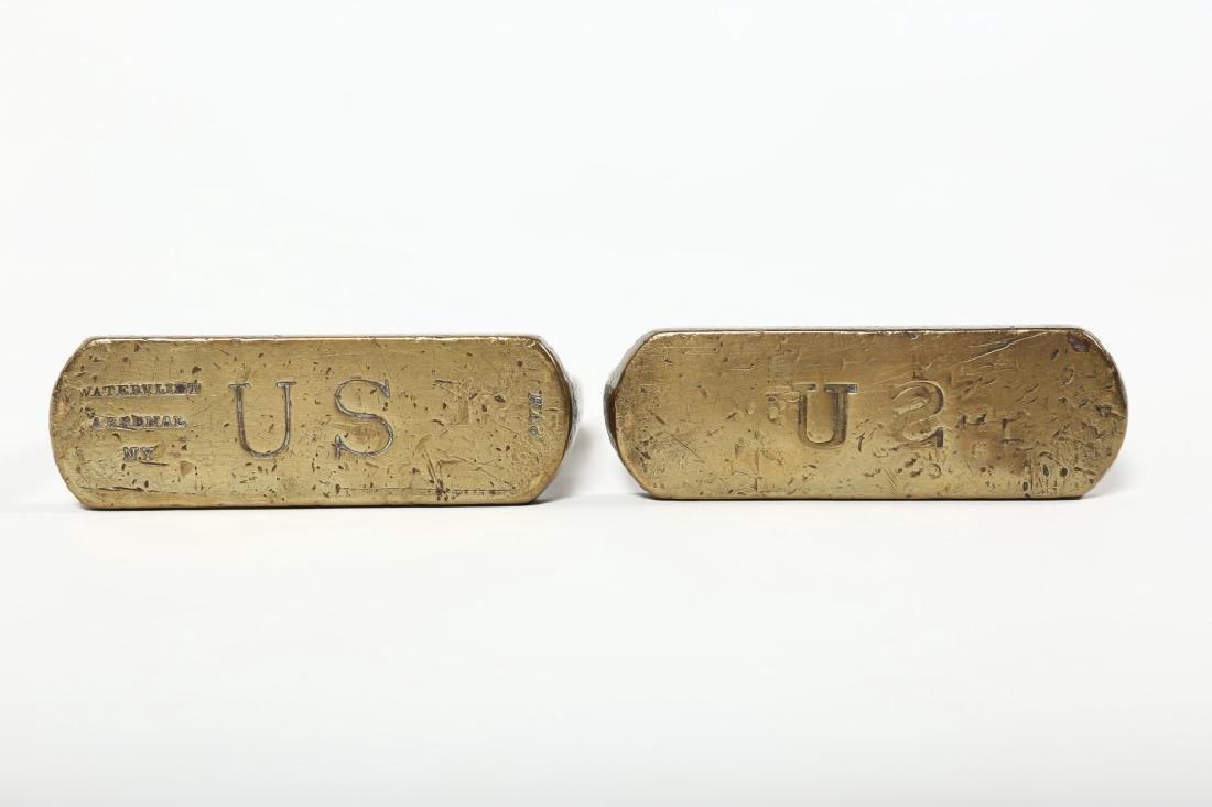 Pair Antique U.S. Calvary Signed Sturips - 2