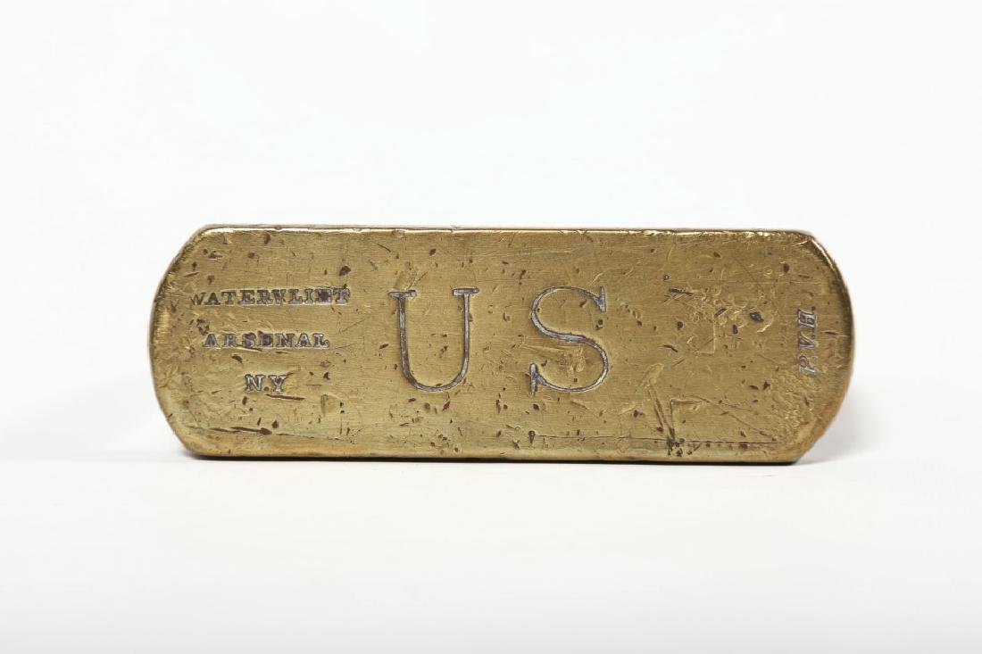 Pair Antique U.S. Calvary Signed Sturips - 3