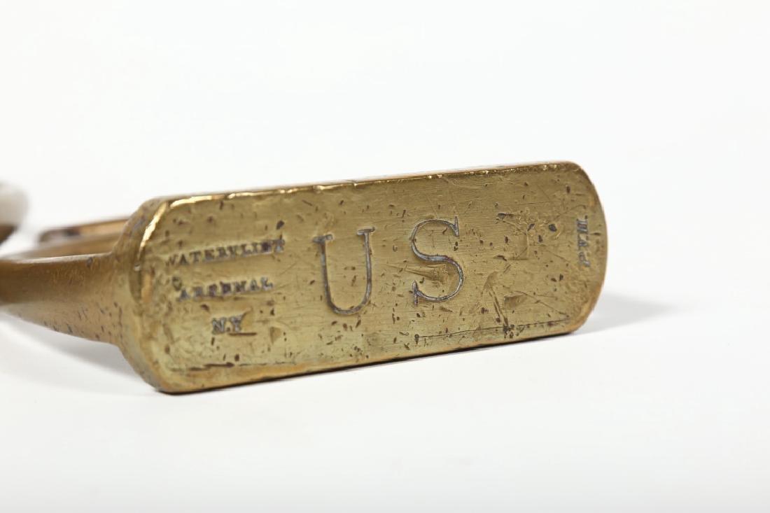 Pair Antique U.S. Calvary Signed Sturips - 5