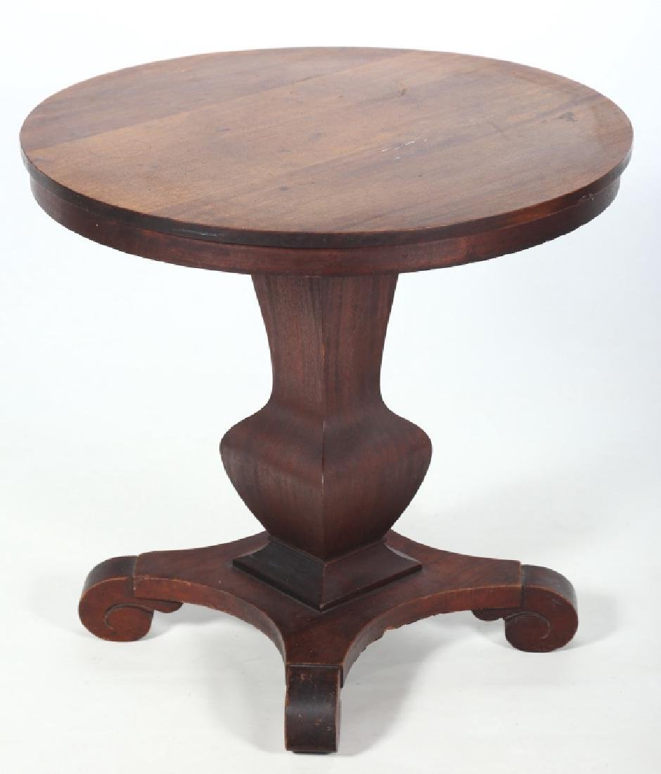 American Classical Mahogany Center Table