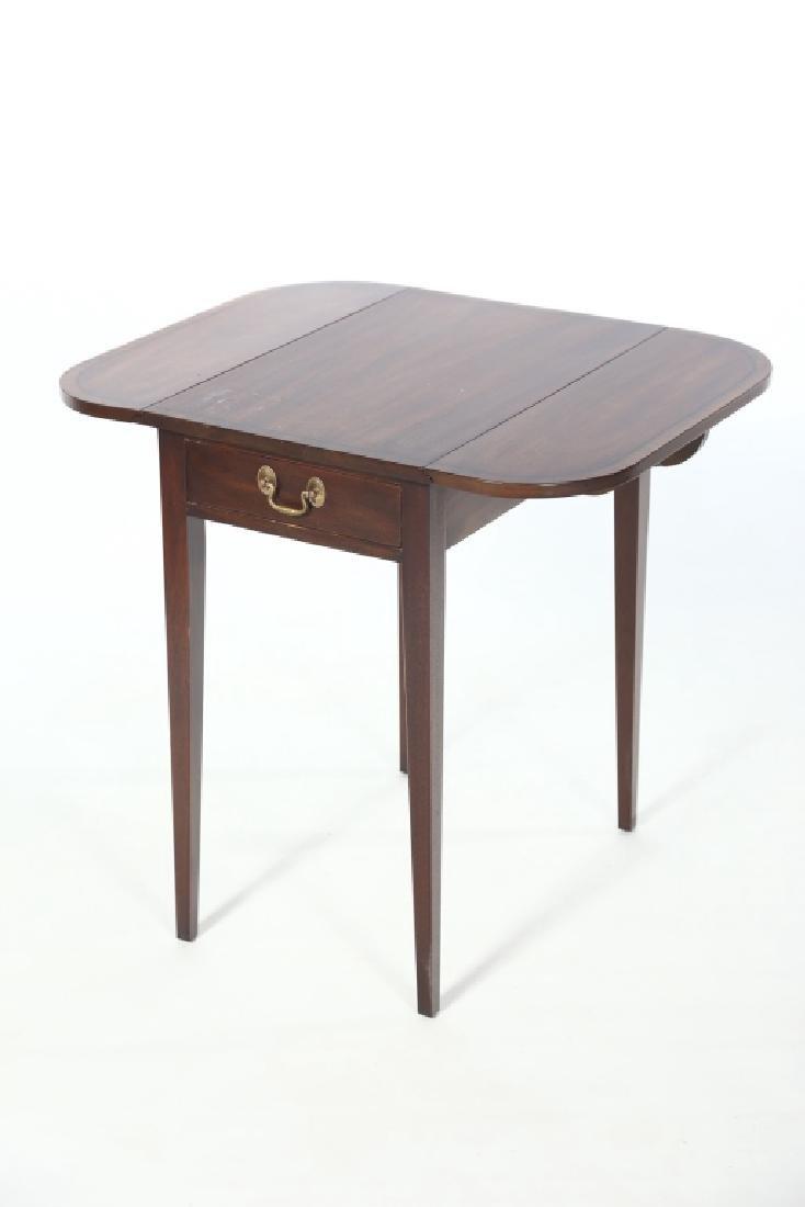 Henkel Harris Inlaid Federal Style Pembroke Table - 2