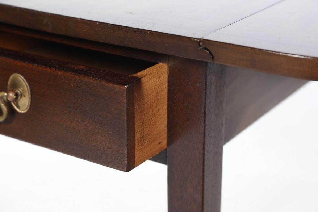 Henkel Harris Inlaid Federal Style Pembroke Table - 4