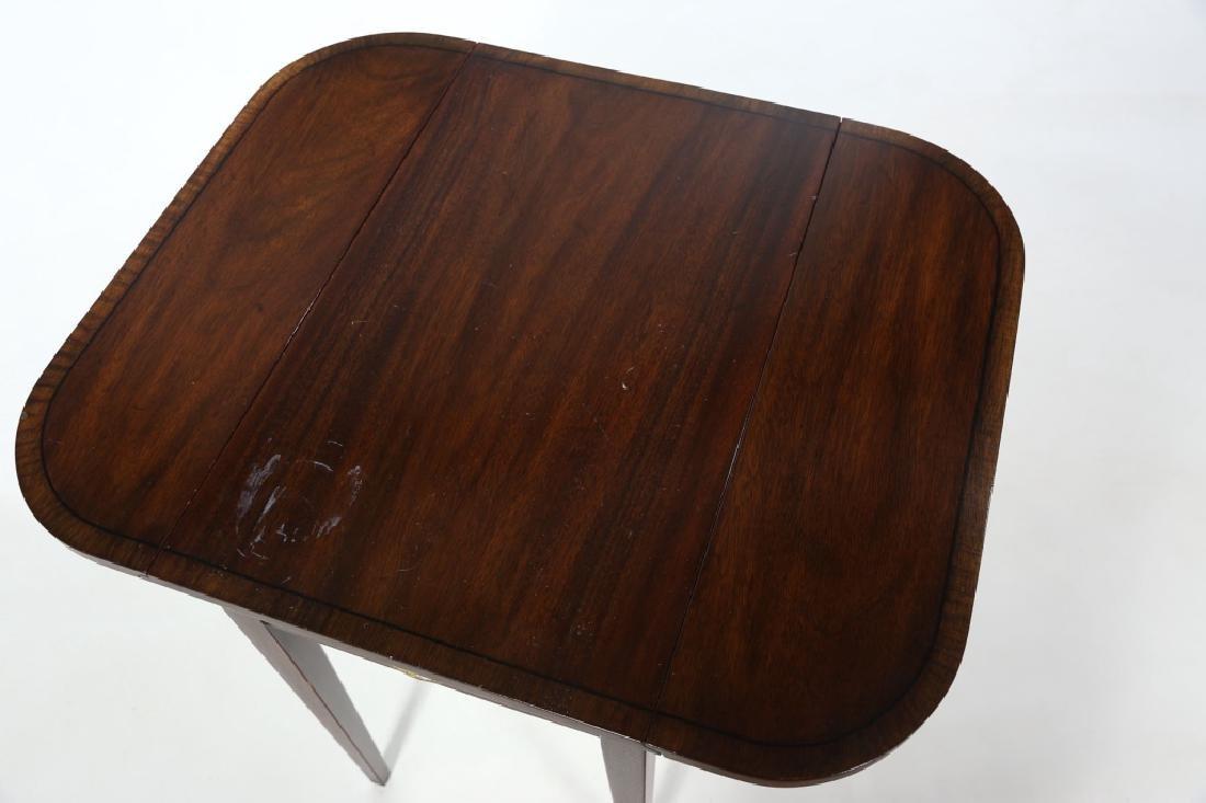Henkel Harris Inlaid Federal Style Pembroke Table - 5