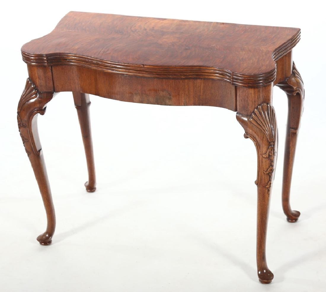 Fine Baker Queen Anne Style Card Table