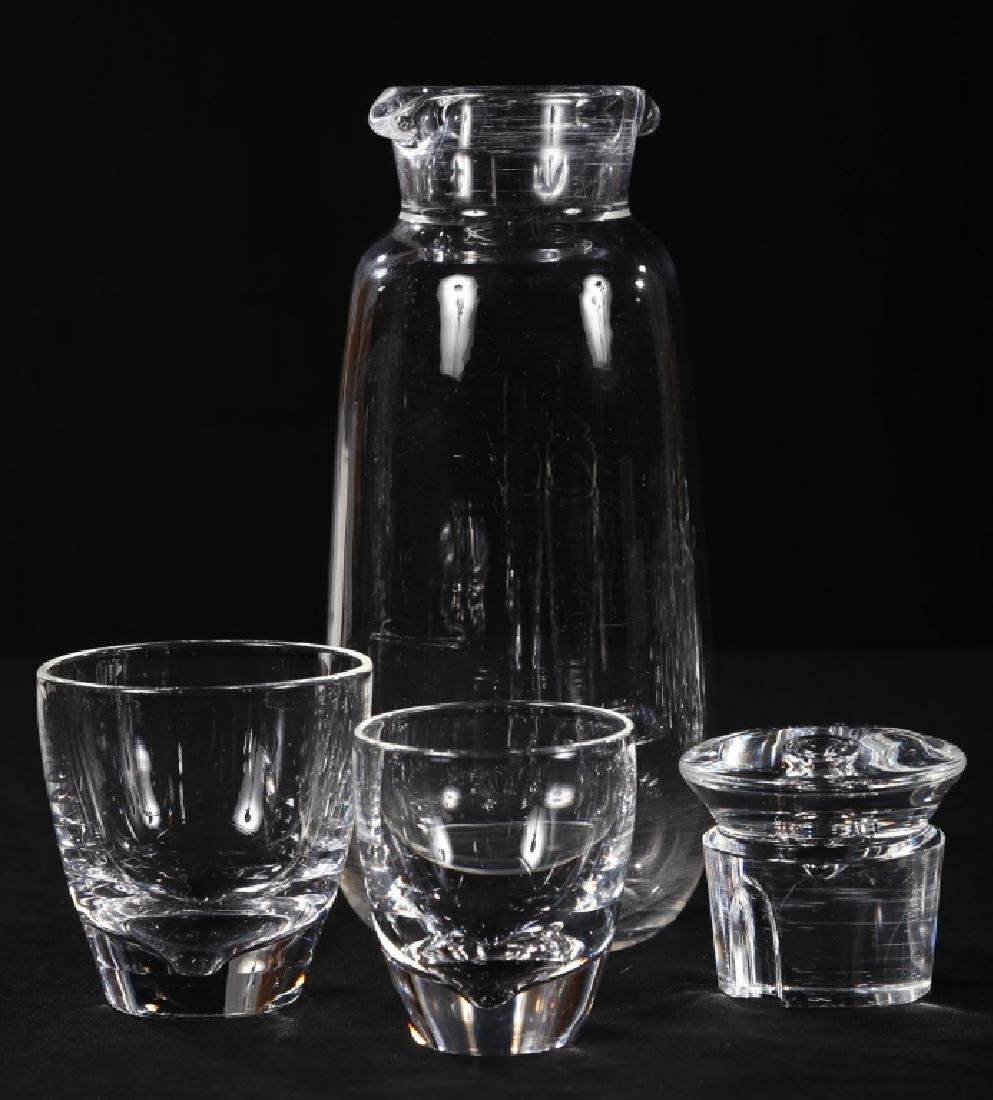 Fine Art Deco Steuben Blown Glass Drinks Set - 4