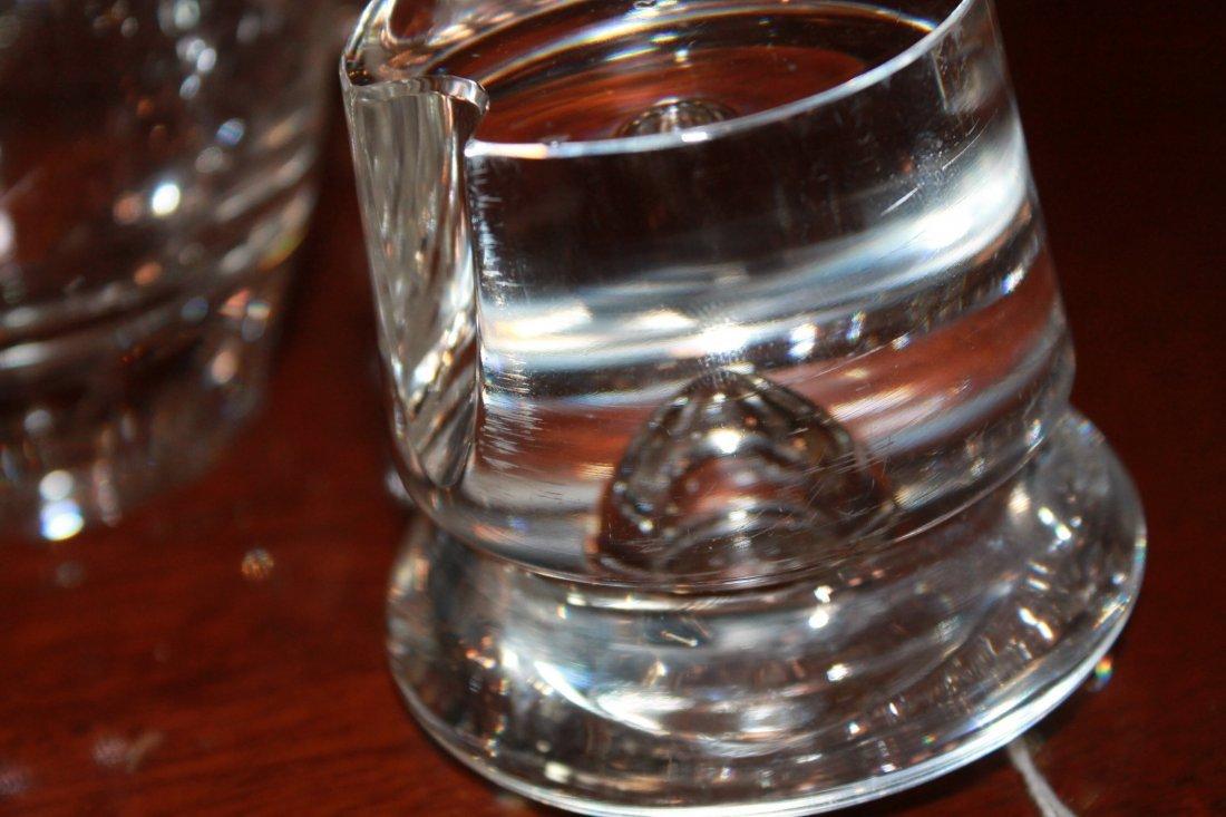 Fine Art Deco Steuben Blown Glass Drinks Set - 7