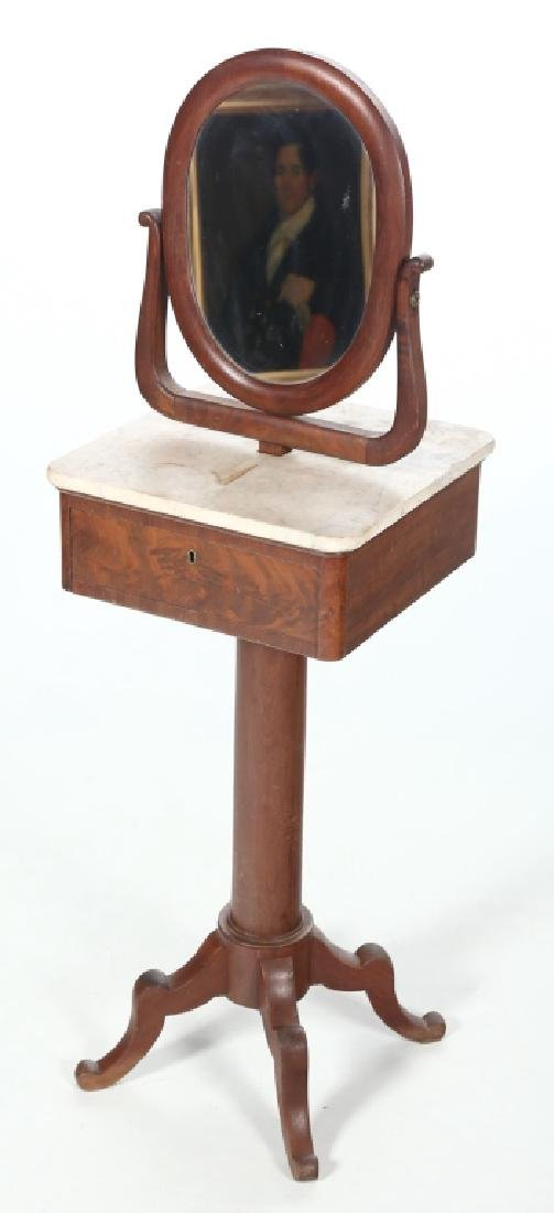 Charming Classical Mahogany Dressing Stand