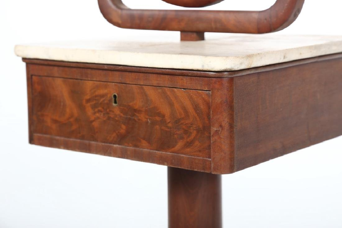 Charming Classical Mahogany Dressing Stand - 4