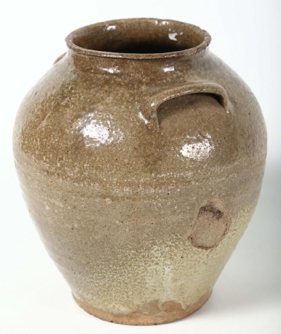 Southern Stoneware Storage Jar - 3
