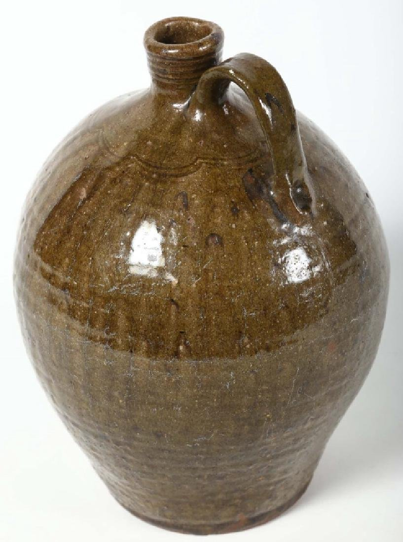 Very Fine Early Decorated Southern Stoneware Jug - 2