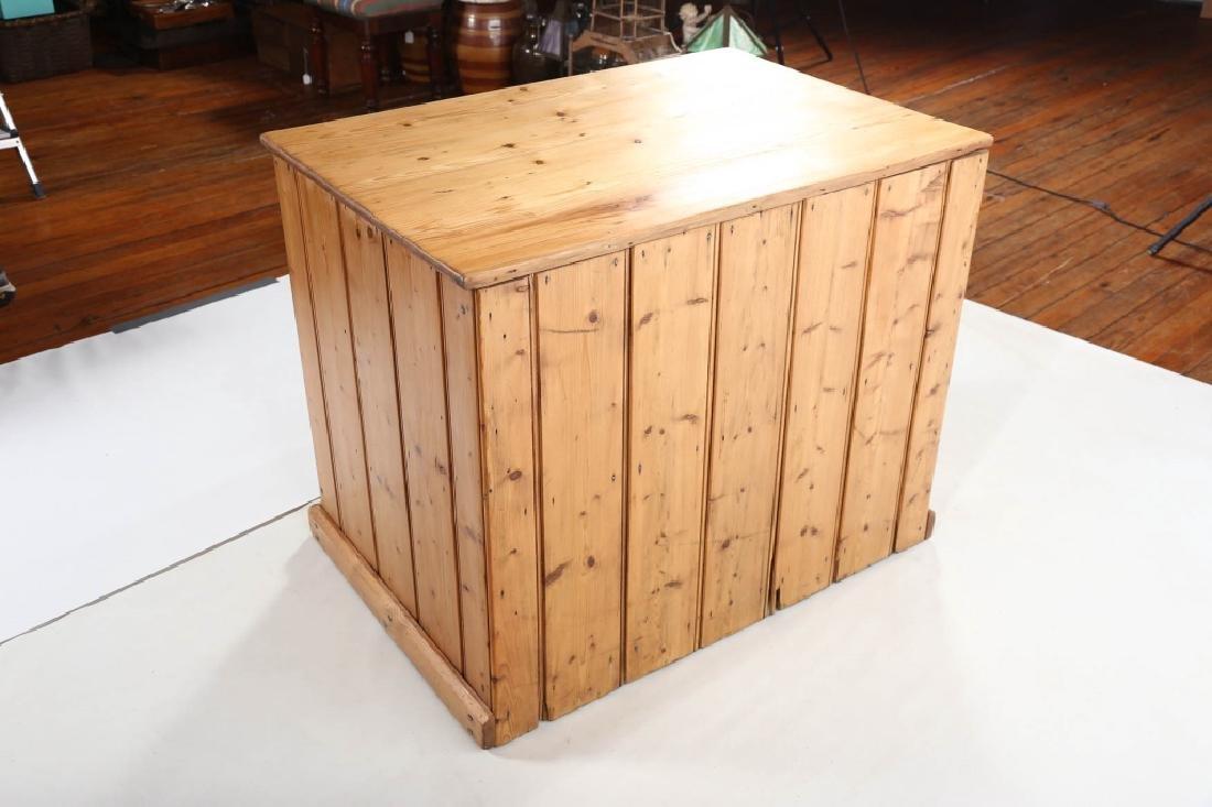 British Country Pine Specimen Cabinet - 4