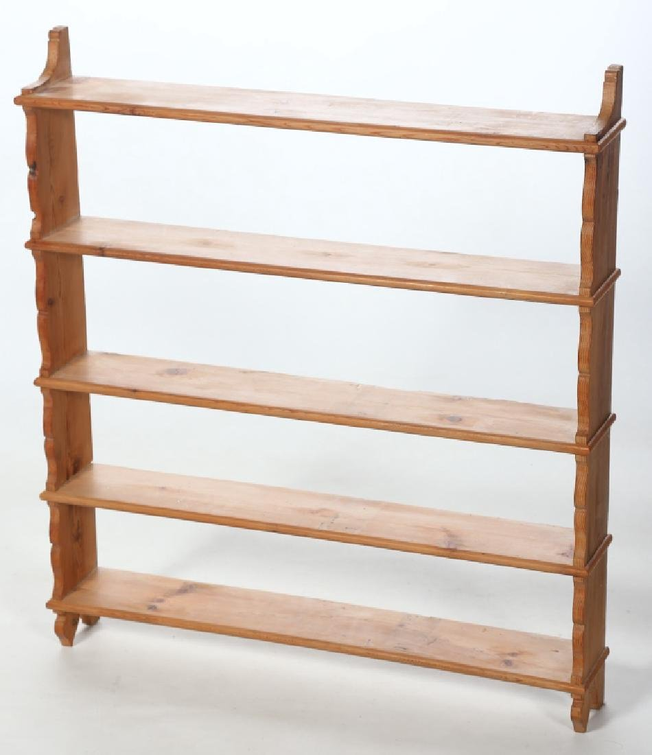 English Country Pine Wall Shelf