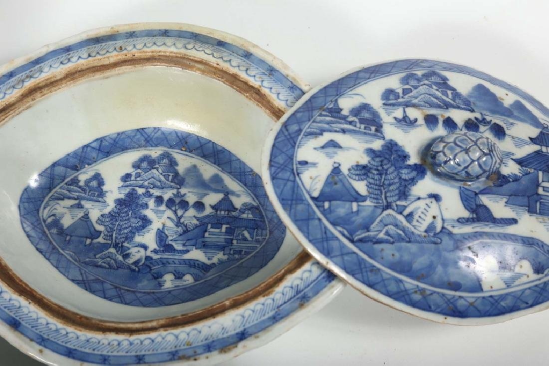 Collection Antique Chinese Export Canton Porcelain - 6