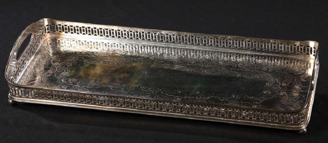 Old Sheffield Silver Plate Serving Tray