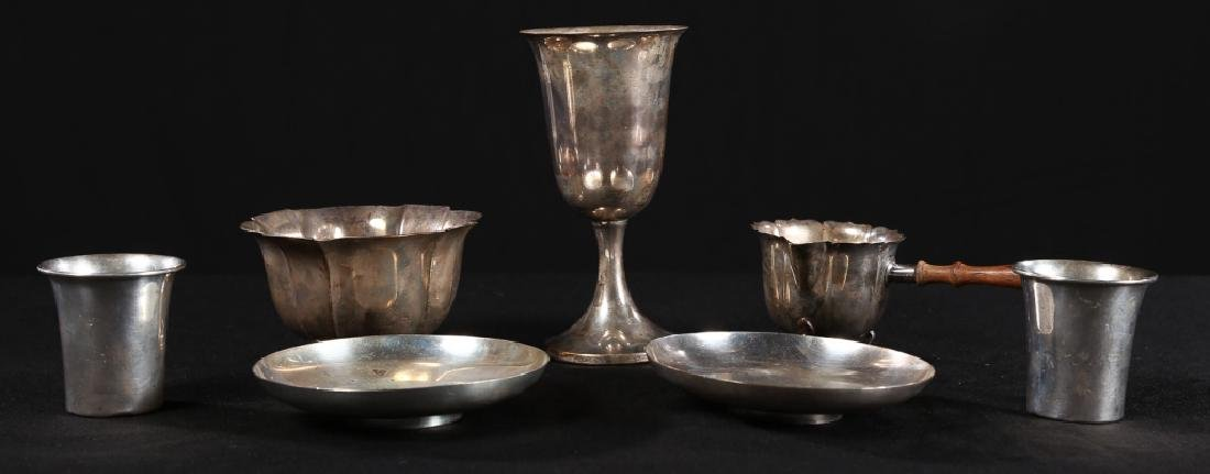 Collection American & British Sterling Objects