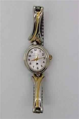 Vintage Gloria Vanderbilt Stainless Steel Watch
